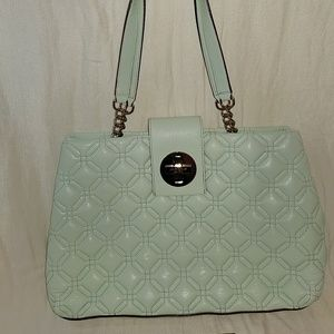 Mint Green Quilted Kate Spade Bag